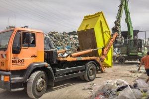 Wywóz śmieci w Poznaniu kontenerami