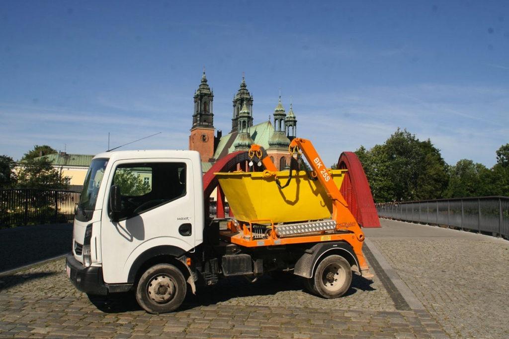 Kontenery na śmieci tanio w Poznaniu